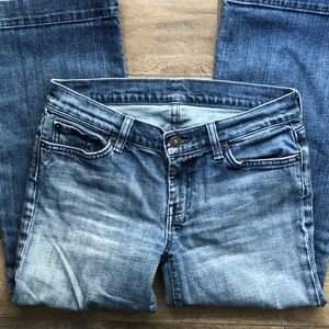 7 For All Mankind Jeans - Seven Jeans - Crop Dojo Style
